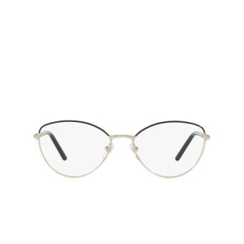 Prada® Butterfly Eyeglasses: PR 62WV color Black AAV1O1.