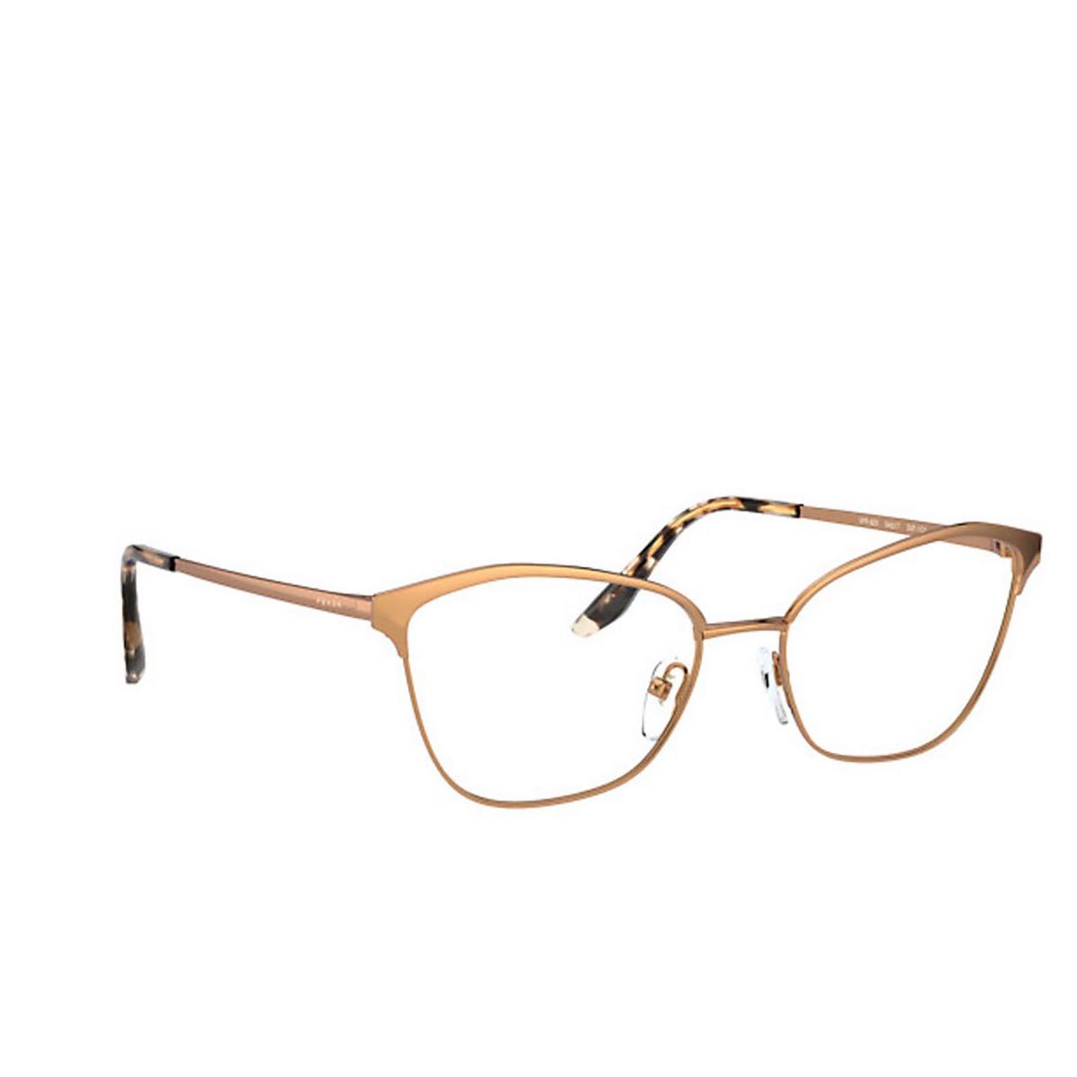Prada® Cat-eye Eyeglasses: PR 62XV color Pink Gold SVF1O1.