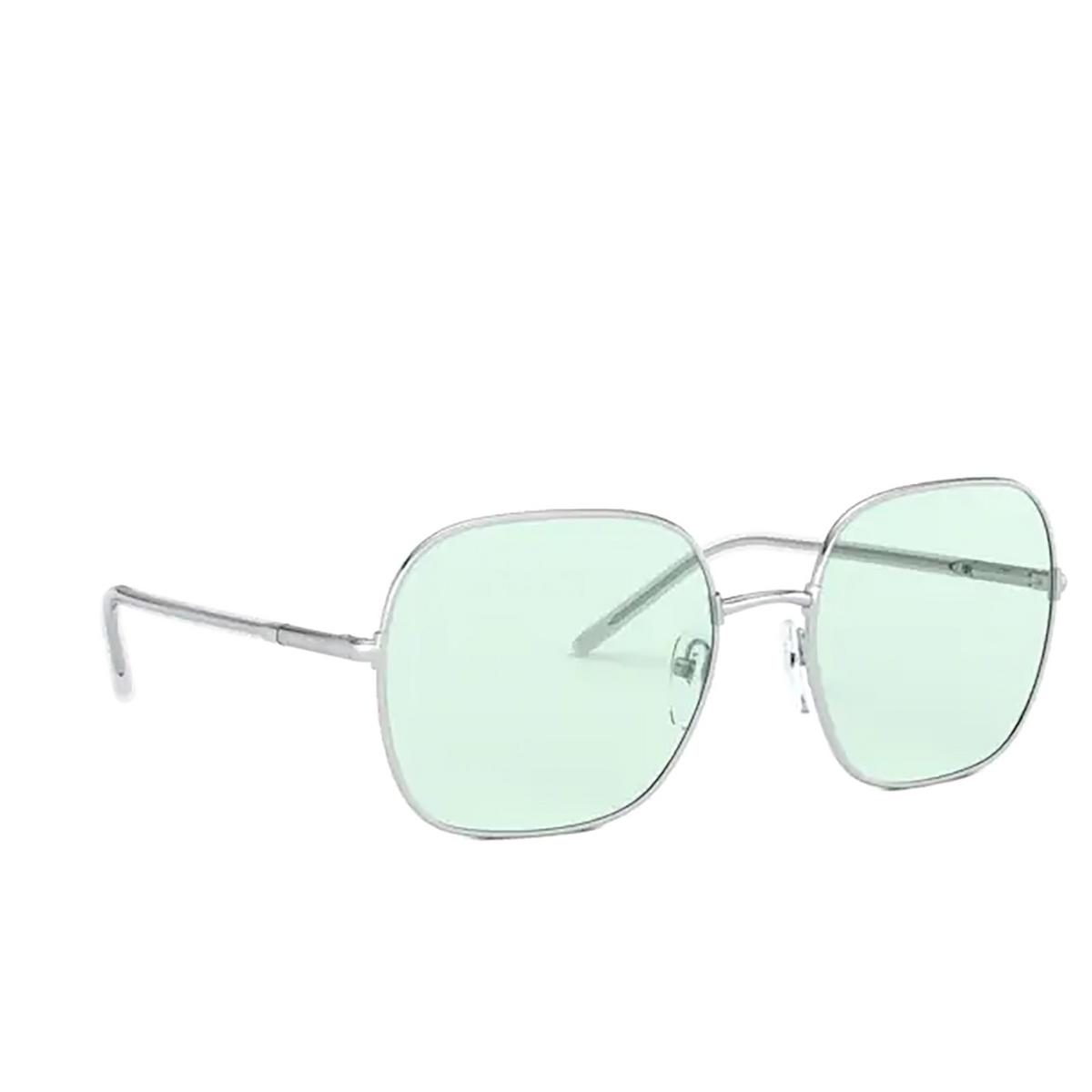 Prada® Square Sunglasses: PR 67XS color Silver 1BC08D.
