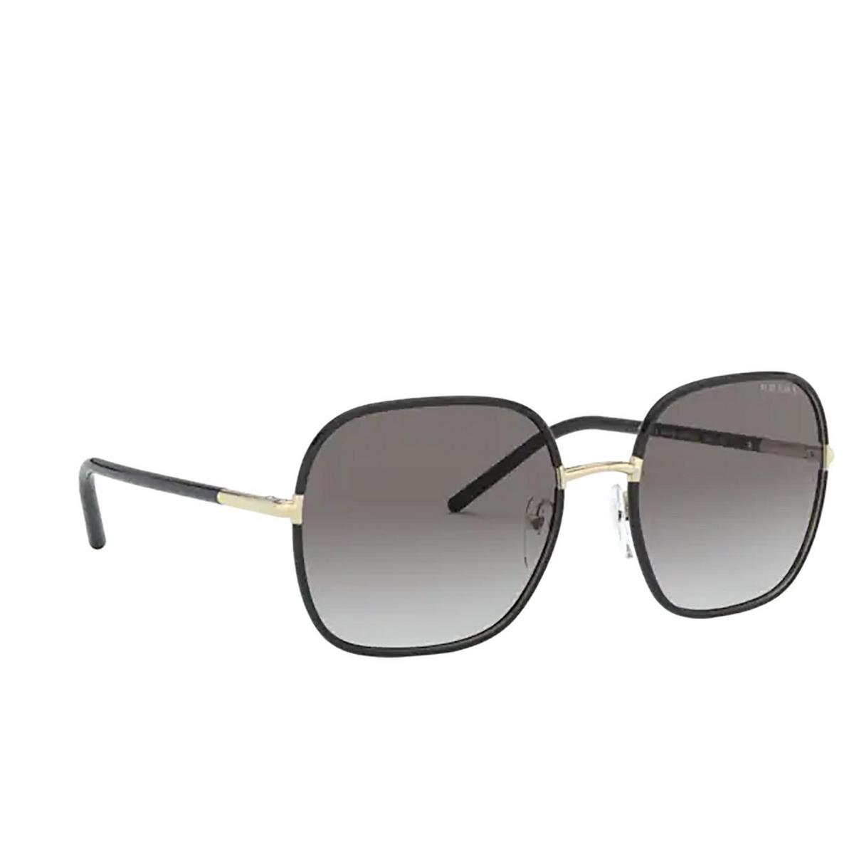 Prada® Square Sunglasses: PR 67XS color Pale Gold / Black AAV0A7.