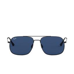 Ray-Ban® Square Sunglasses: Andrea RB3595 color Rubber Black 901480.