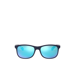 Ray-Ban® Sunglasses: Andy RB4202 color Matte Blue On Blue 615355.