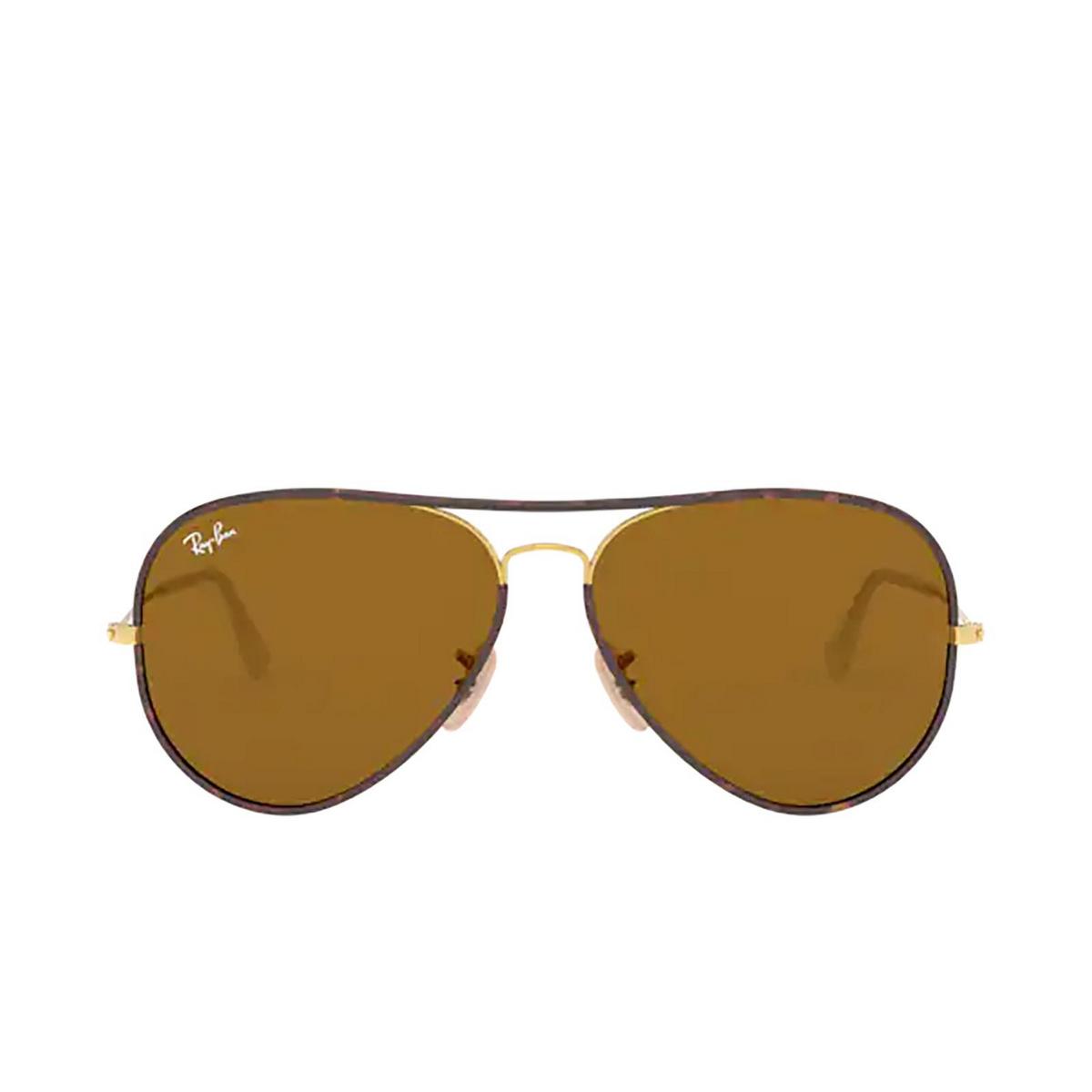 Ray-Ban® Aviator Sunglasses: Aviator Full Color RB3025JM color Arista 001.