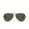 Ray-Ban® Aviator Sunglasses: Aviator Large Metal Ii RB3026 color Black L2821 - product thumbnail 1/3.