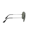 Ray-Ban® Aviator Sunglasses: Aviator Large Metal Ii RB3026 color Black L2821 - product thumbnail 3/3.