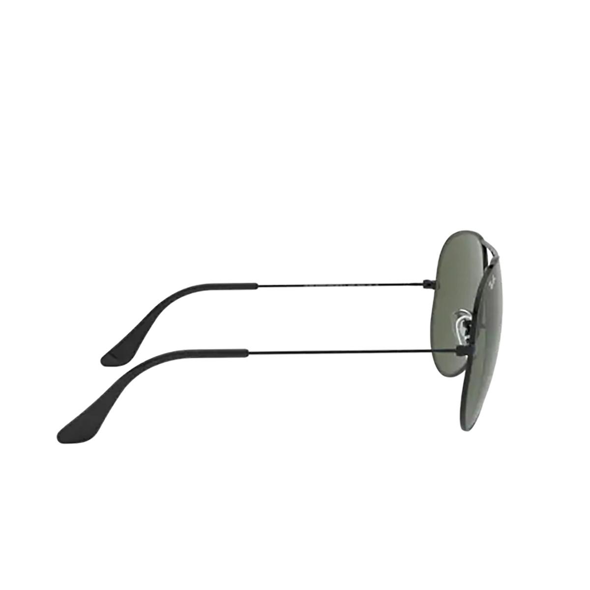 Ray-Ban® Aviator Sunglasses: Aviator Large Metal Ii RB3026 color Black L2821 - 3/3.