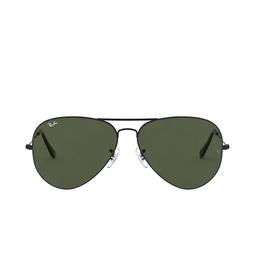 Ray-Ban® Aviator Sunglasses: Aviator Large Metal Ii RB3026 color Black L2821.