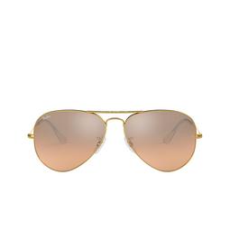 Ray-Ban® Sunglasses: Aviator Large Metal RB3025 color Arista 001/3E.
