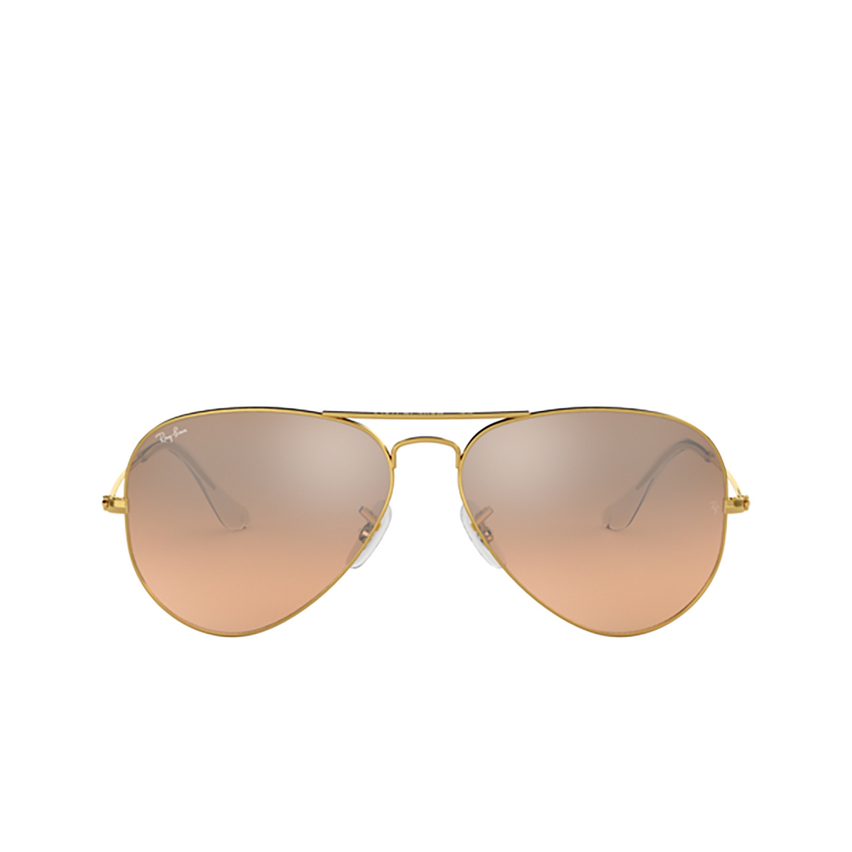 Ray-Ban® Aviator Sunglasses: Aviator Large Metal RB3025 color Arista 001/3E.