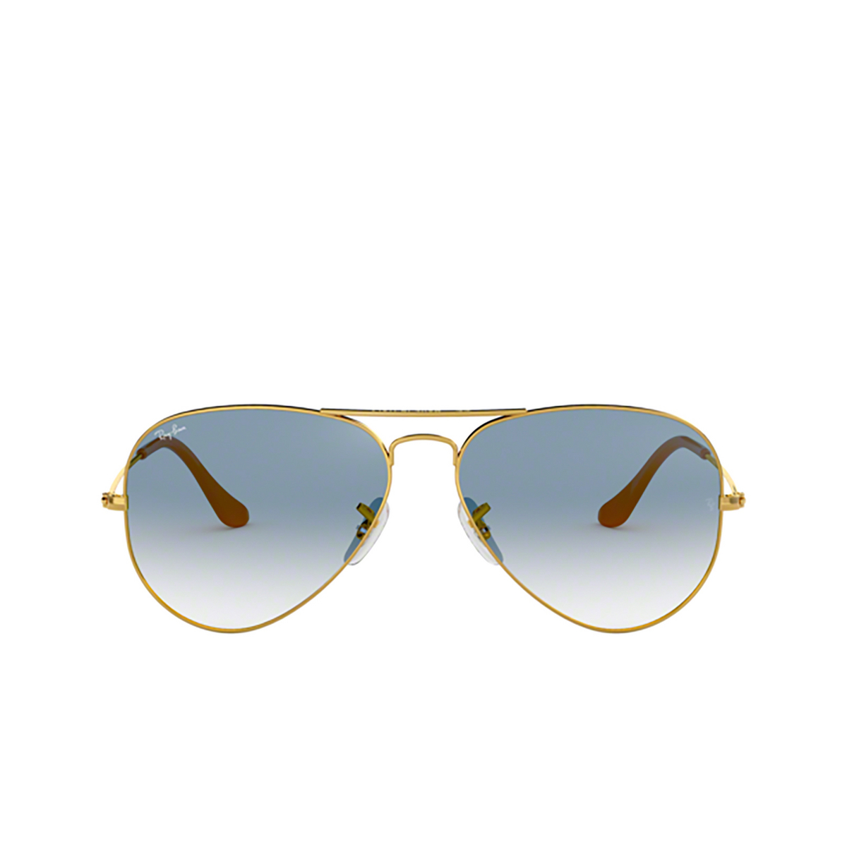 Ray-Ban® Aviator Sunglasses: Aviator Large Metal RB3025 color Arista 001/3F.