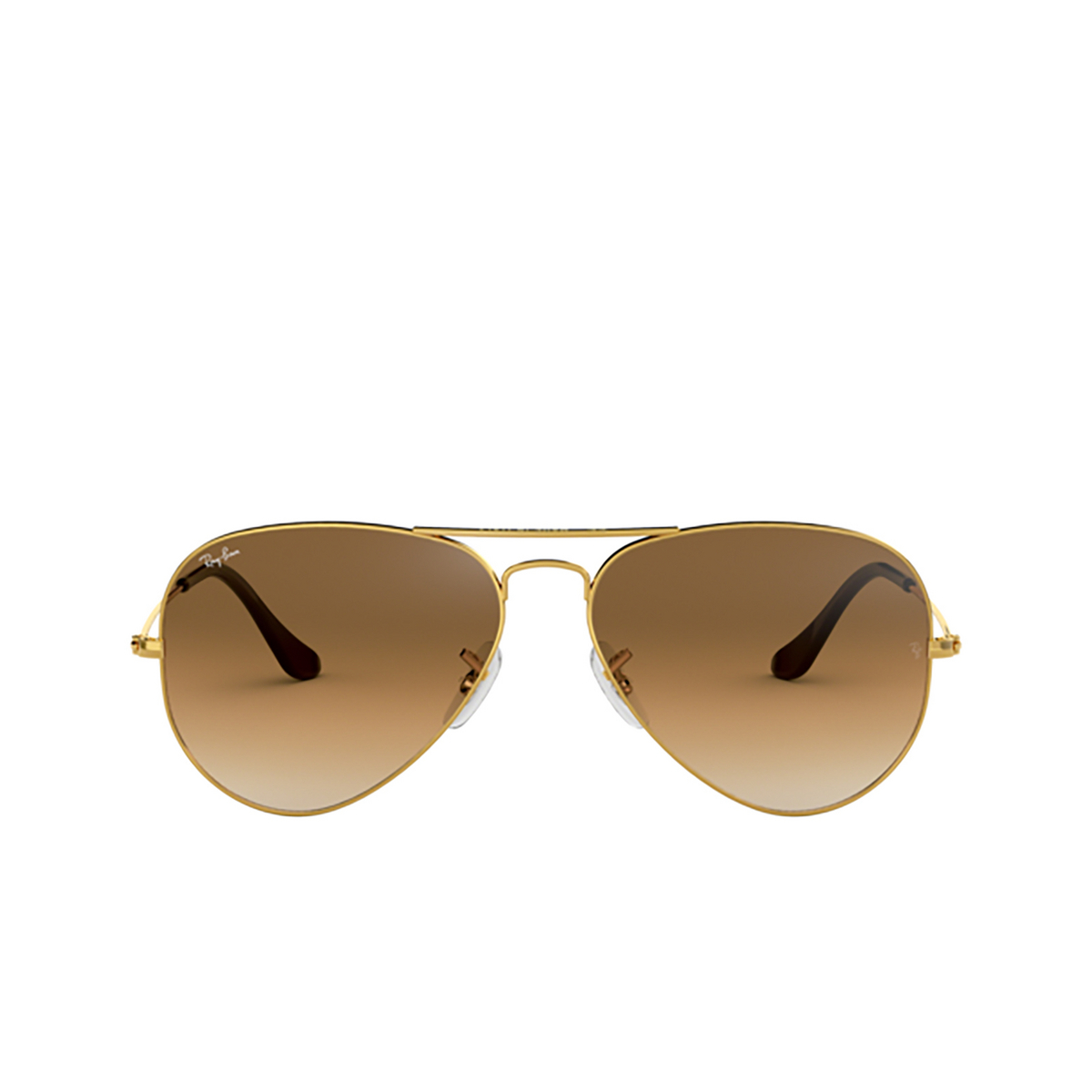 Ray-Ban® Aviator Sunglasses: Aviator Large Metal RB3025 color Arista 001/51.
