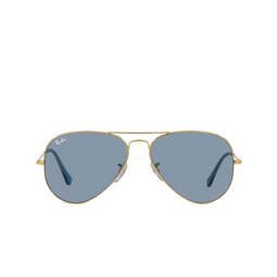 Ray-Ban® Sunglasses: Aviator Large Metal RB3025 color True Blue 001/56.