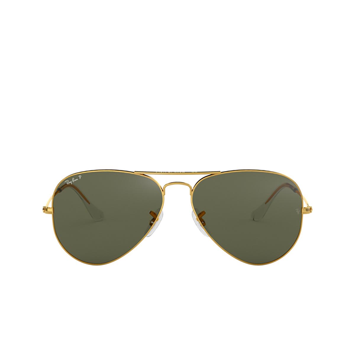 Ray-Ban® Aviator Sunglasses: Aviator Large Metal RB3025 color Arista 001/58.