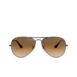 Ray-Ban® Sunglasses: Aviator Large Metal RB3025 color Gunmetal 004/51.