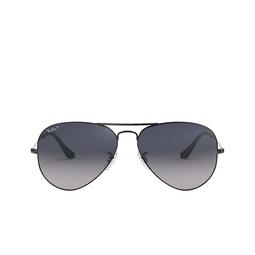 Ray-Ban® Sunglasses: Aviator Large Metal RB3025 color Gunmetal 004/78.