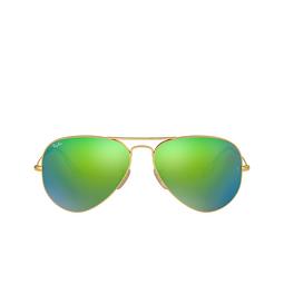 Ray-Ban® Sunglasses: Aviator Large Metal RB3025 color Matte Arista 112/19.