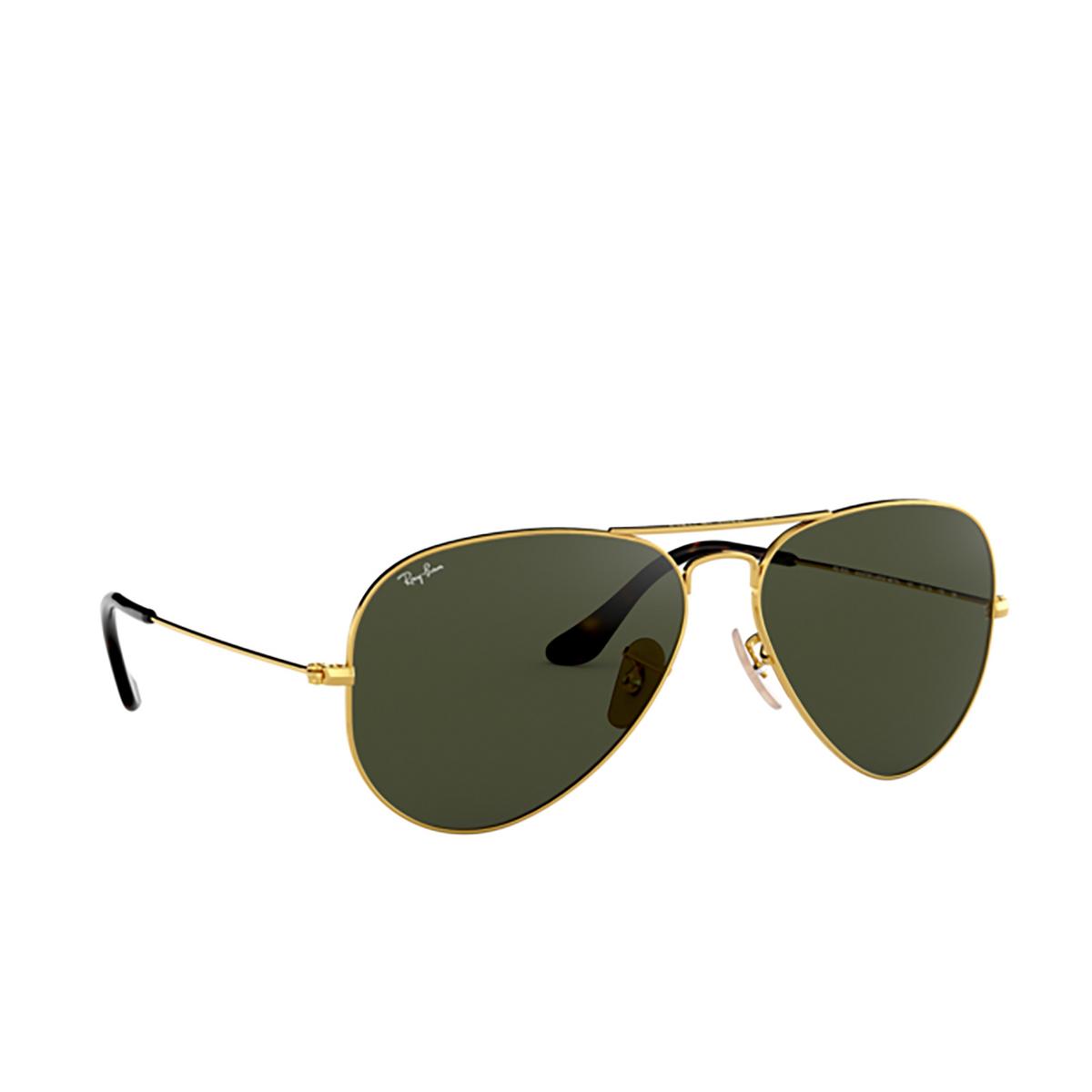 Ray-Ban® Aviator Sunglasses: Aviator Large Metal RB3025 color Arista 181.