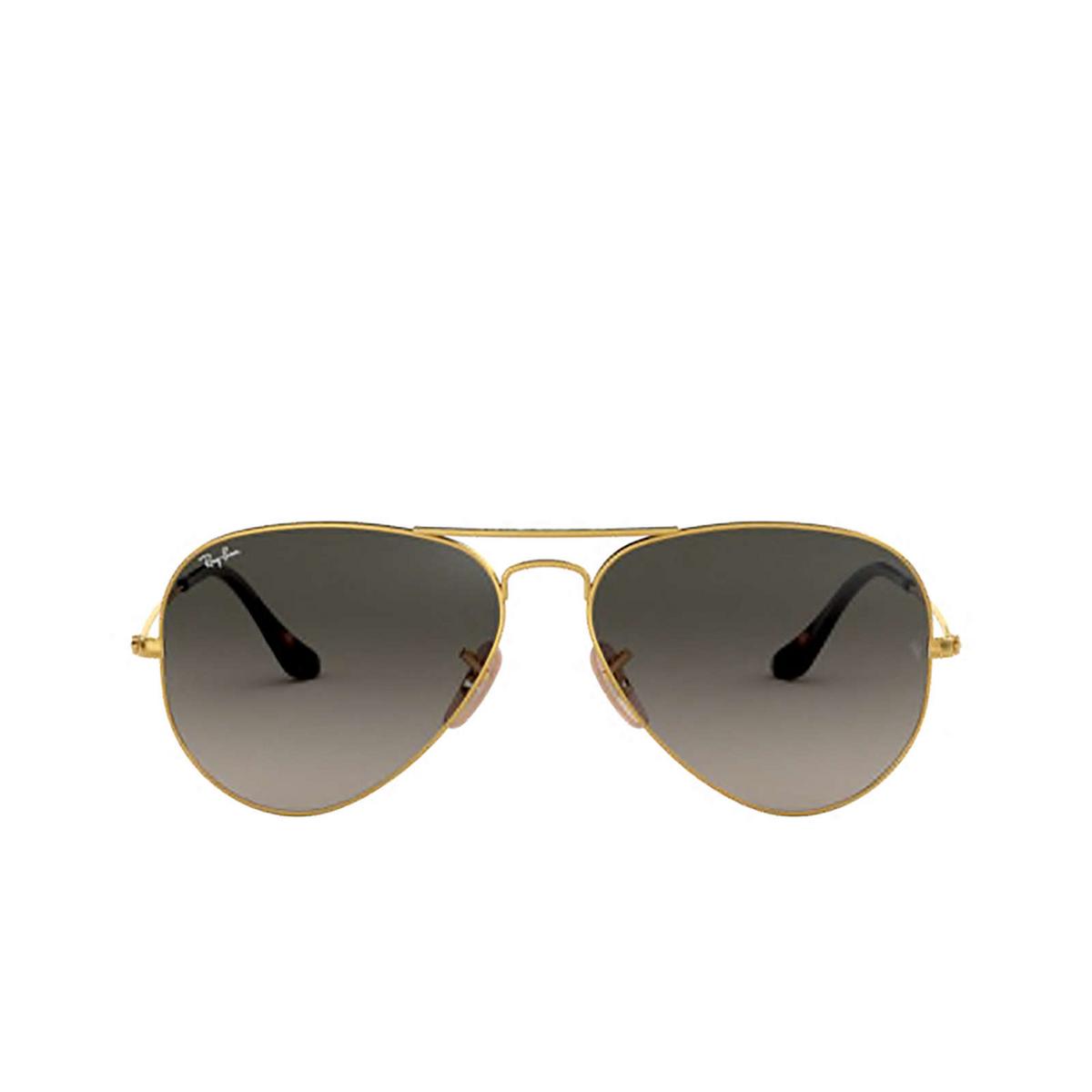 Ray-Ban® Aviator Sunglasses: Aviator Large Metal RB3025 color Arista 181/71.