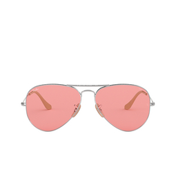 Ray-Ban® Sunglasses: Aviator Large Metal RB3025 color Silver 9065V7.