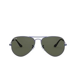 Ray-Ban® Sunglasses: Aviator Large Metal RB3025 color Sand Transparent Blue 918731.