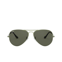 Ray-Ban® Sunglasses: Aviator Large Metal RB3025 color Sand Transparent Green 919131.