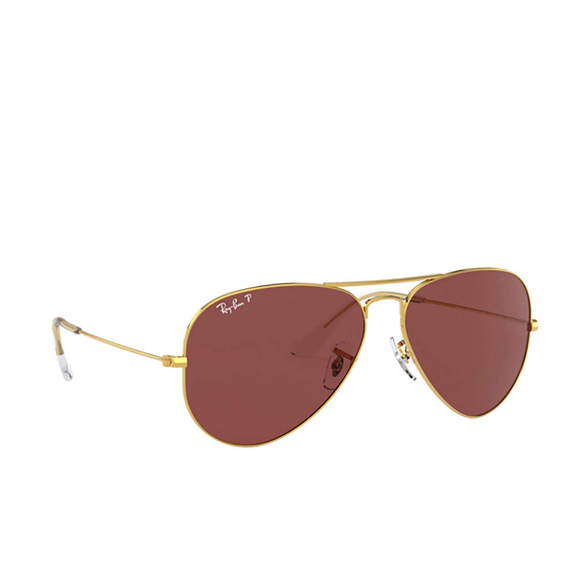 Ray-Ban® Aviator Sunglasses: Aviator Large Metal RB3025 color Legend Gold 9196AF.