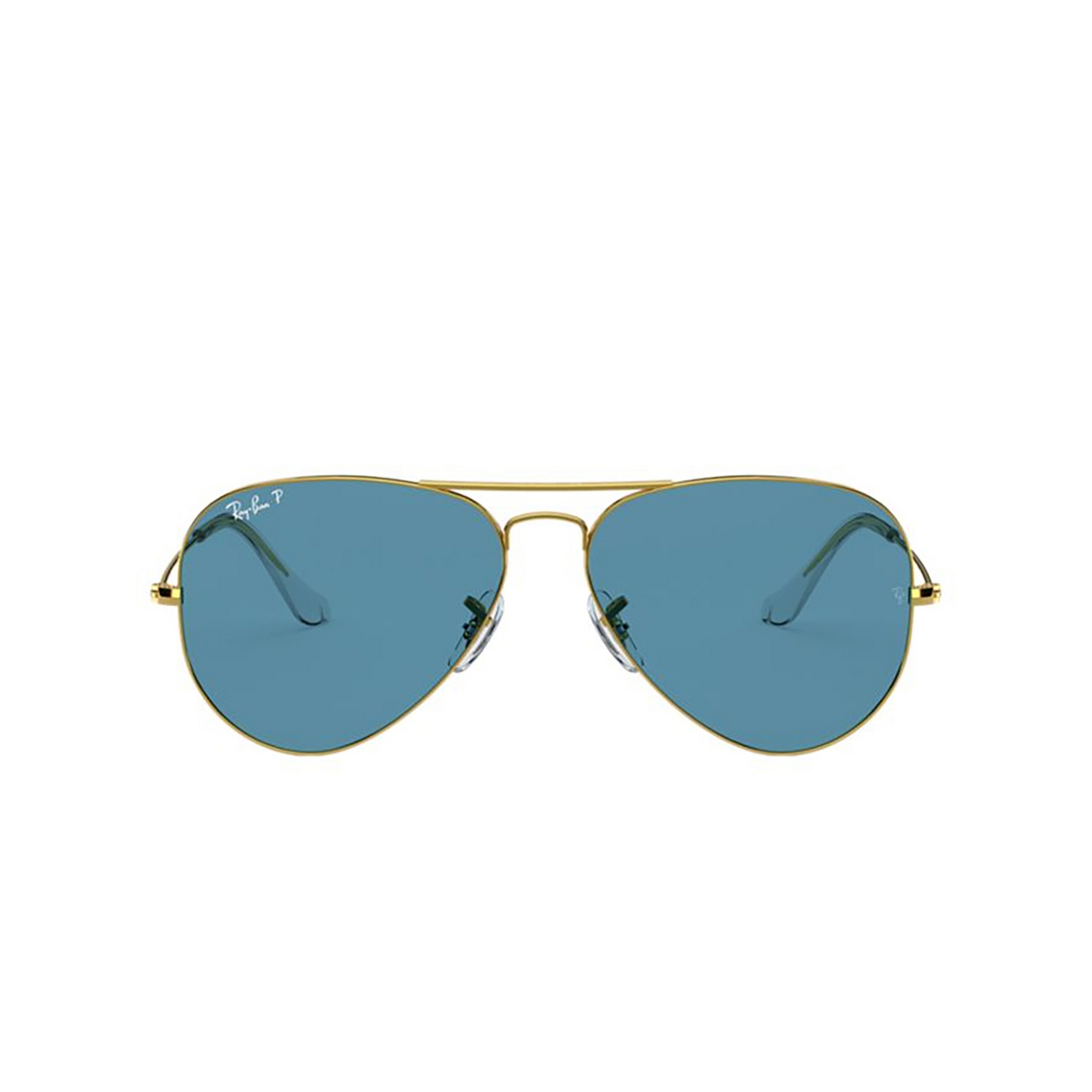 Ray-Ban® Aviator Sunglasses: Aviator Large Metal RB3025 color Legend Gold 9196S2.