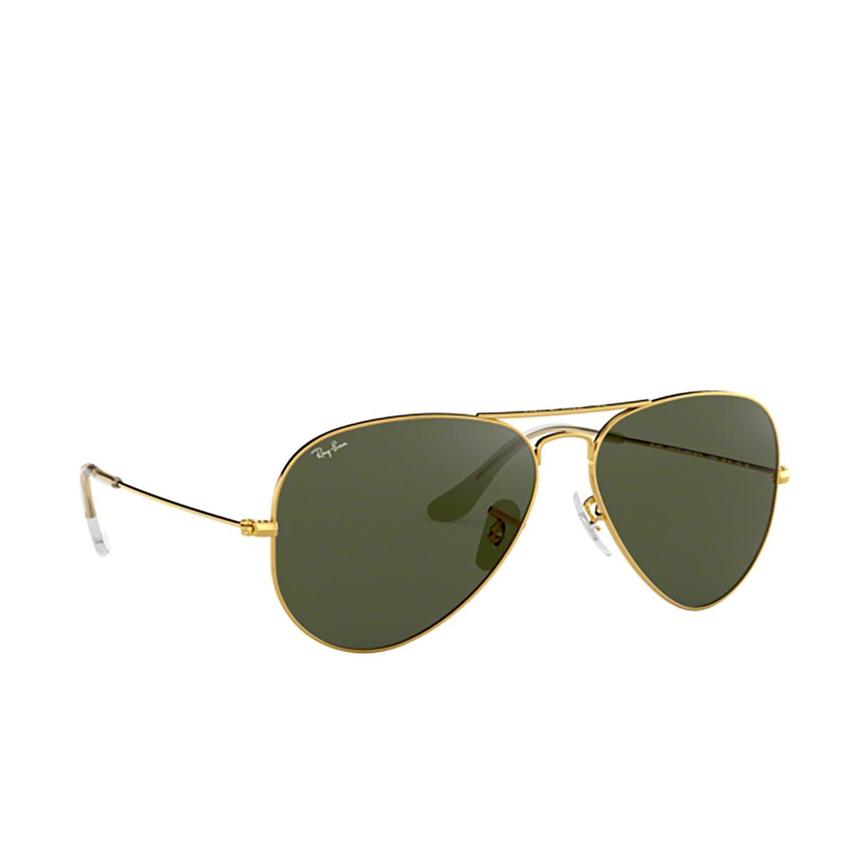 Ray-Ban® Aviator Sunglasses: Aviator Large Metal RB3025 color Arista L0205.
