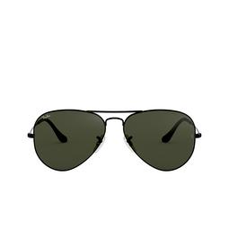 Ray-Ban® Sunglasses: Aviator Large Metal RB3025 color Black L2823.