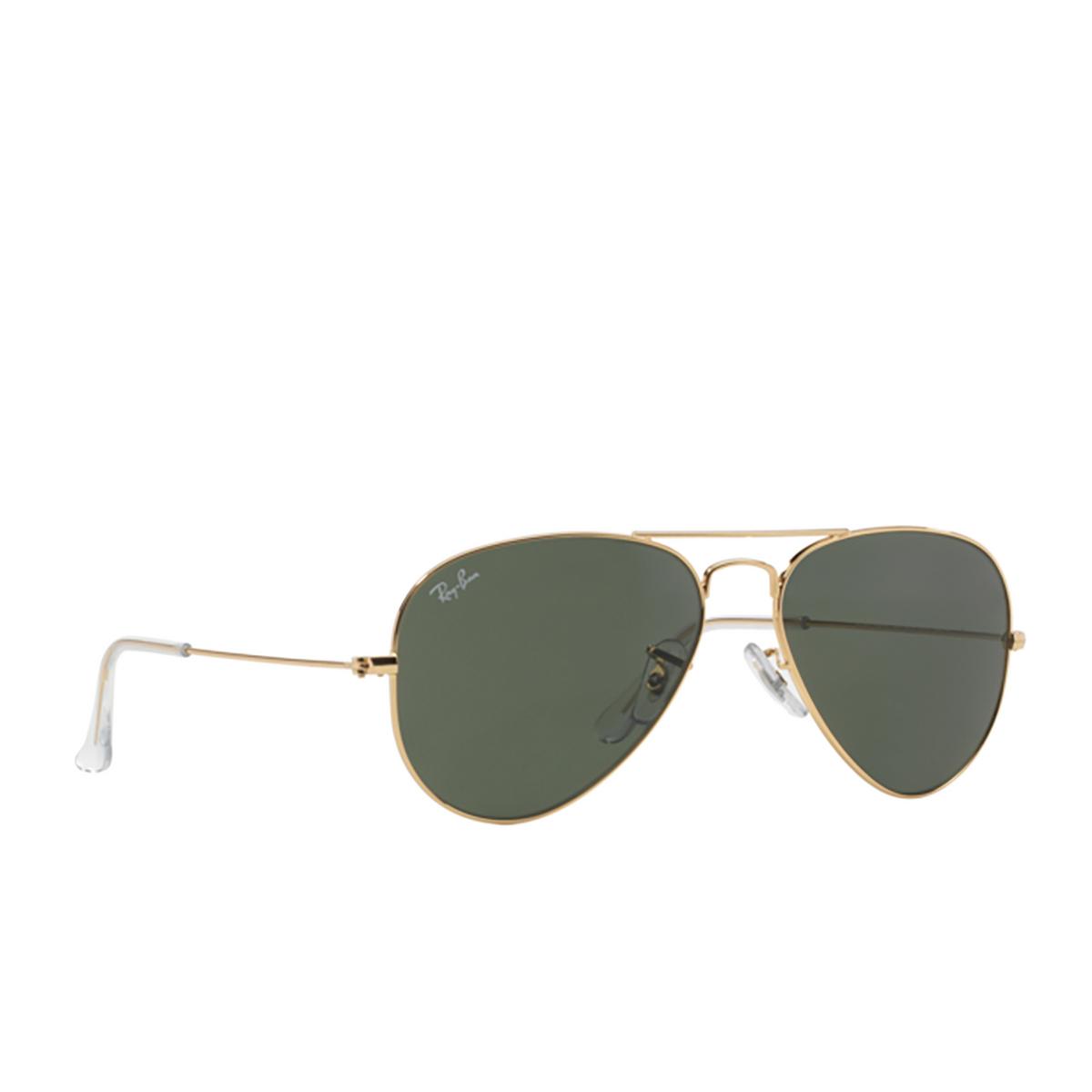 Ray-Ban® Aviator Sunglasses: Aviator Large Metal RB3025 color Arista W3234.
