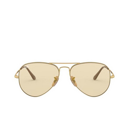 Ray-Ban® Sunglasses: Aviator Metal Ii RB3689 color Gold 001/T2.