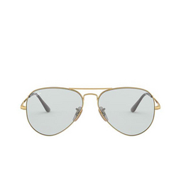 Ray-Ban® Sunglasses: Aviator Metal Ii RB3689 color Gold 001/T3.