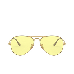 Ray-Ban® Sunglasses: Aviator Metal Ii RB3689 color Gold 001/T4.