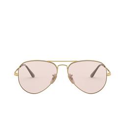 Ray-Ban® Sunglasses: Aviator Metal Ii RB3689 color Gold 001/T5.