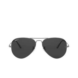 Ray-Ban® Sunglasses: Aviator Metal Ii RB3689 color Gunmetal 004/48.
