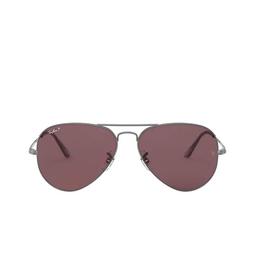 Ray-Ban® Sunglasses: Aviator Metal Ii RB3689 color Gunmetal 004/AF.