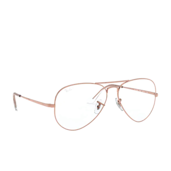 Ray-Ban® Aviator Eyeglasses: Aviator RX6489 color Rose Gold 3094.