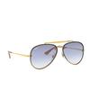 Ray-Ban® Aviator Sunglasses: Blaze Aviator RB3584N color Arista 001/19 - product thumbnail 2/3.