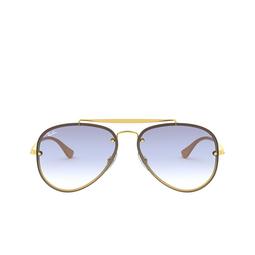 Ray-Ban® Aviator Sunglasses: Blaze Aviator RB3584N color Arista 001/19.