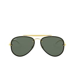 Ray-Ban® Aviator Sunglasses: Blaze Aviator RB3584N color Arista 905071.