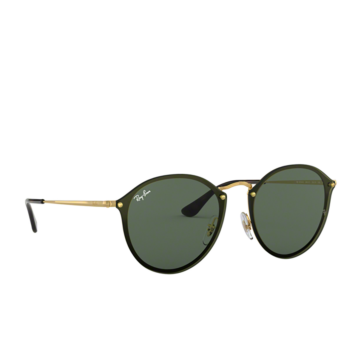 Ray-Ban® Round Sunglasses: Blaze Round RB3574N color Arista 001/71 - 2/3.