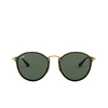 Ray-Ban® Round Sunglasses: Blaze Round RB3574N color Arista 001/71 - product thumbnail 1/3.