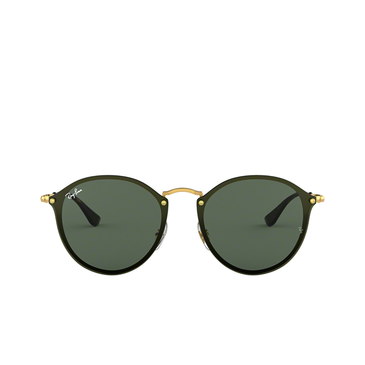 Ray-Ban® Round Sunglasses: Blaze Round RB3574N color Arista 001/71 - 1/3.