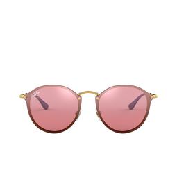 Ray-Ban® Round Sunglasses: Blaze Round RB3574N color Arista 001/E4.