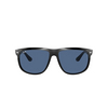 Ray-Ban® Square Sunglasses: Boyfriend RB4147 color Black 601/80 - product thumbnail 1/3.