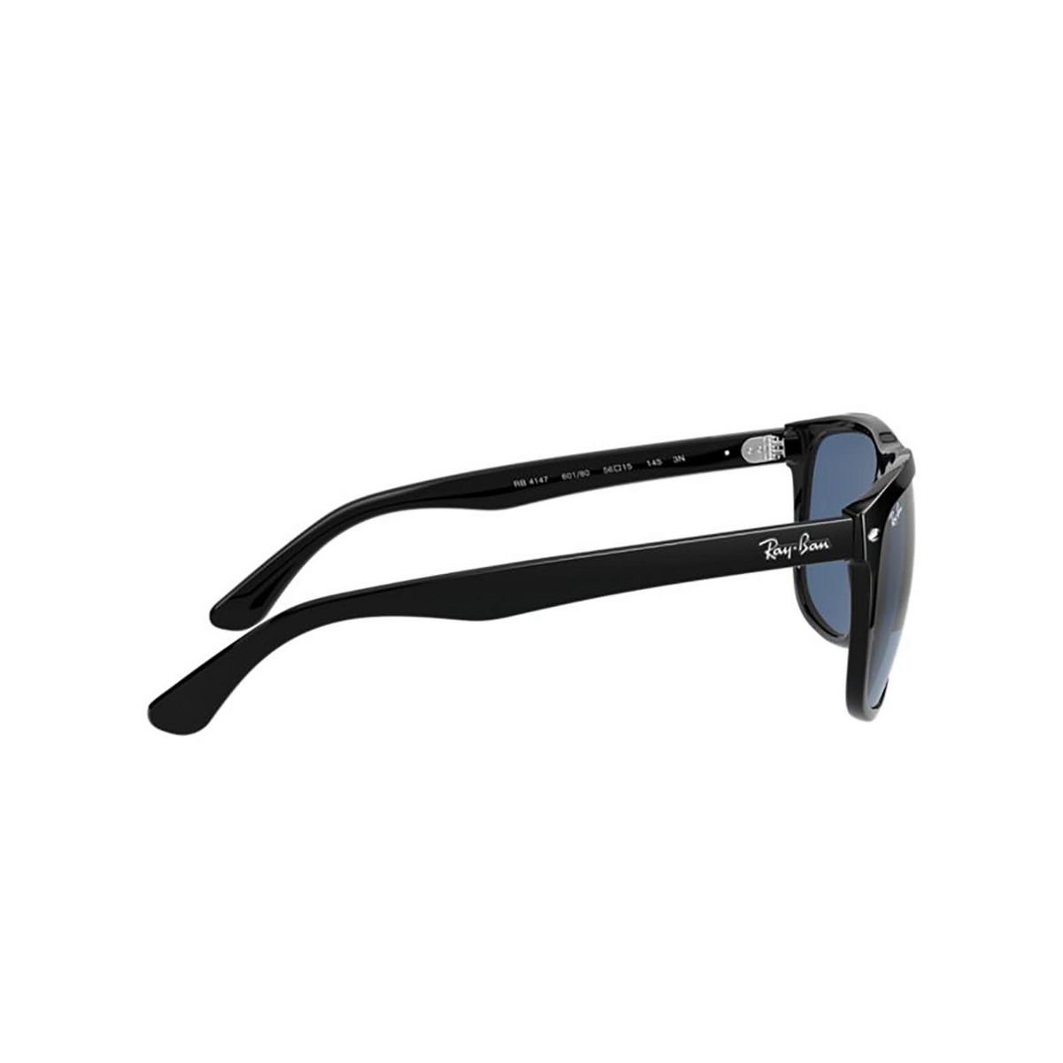 Ray-Ban® Square Sunglasses: Boyfriend RB4147 color Black 601/80 - 3/3.