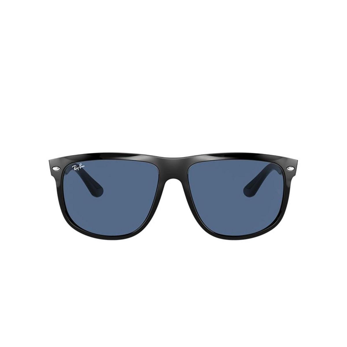 Ray-Ban® Square Sunglasses: Boyfriend RB4147 color Black 601/80 - 1/3.