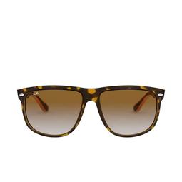 Ray-Ban® Square Sunglasses: Boyfriend RB4147 color Light Havana 710/51.