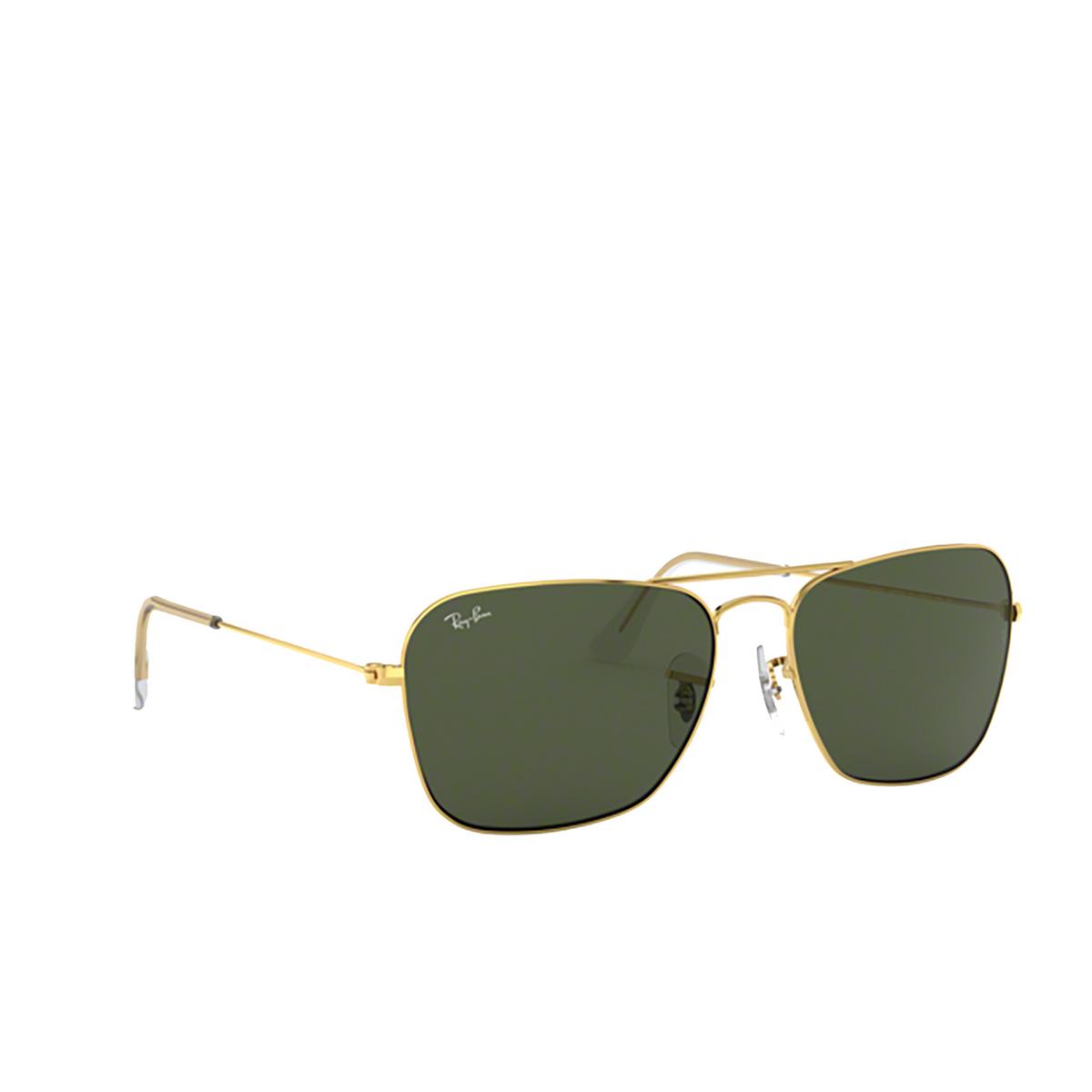 Ray-Ban® Square Sunglasses: Caravan RB3136 color Arista 001 - 2/3.