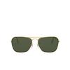 Ray-Ban® Square Sunglasses: Caravan RB3136 color Arista 001 - product thumbnail 1/3.